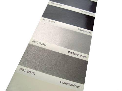 pulverbeschichtung ral farben und sonderfarben farbf cher farben farbwahl. Black Bedroom Furniture Sets. Home Design Ideas